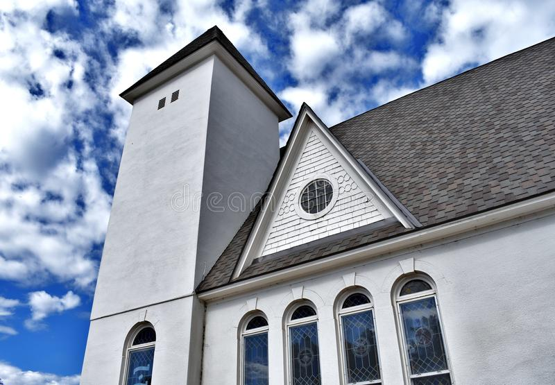 Expresión de la iglesia fotografía de archivo libre de regalías