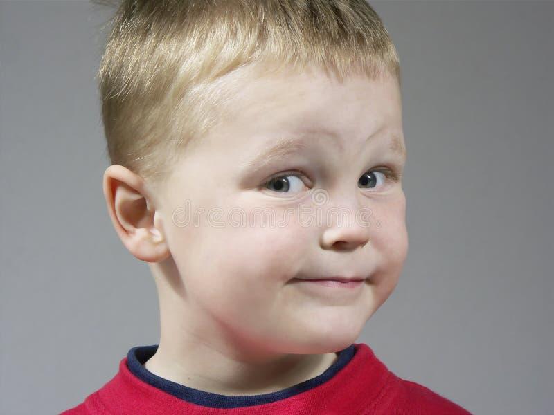 Expresión del muchacho fotografía de archivo libre de regalías