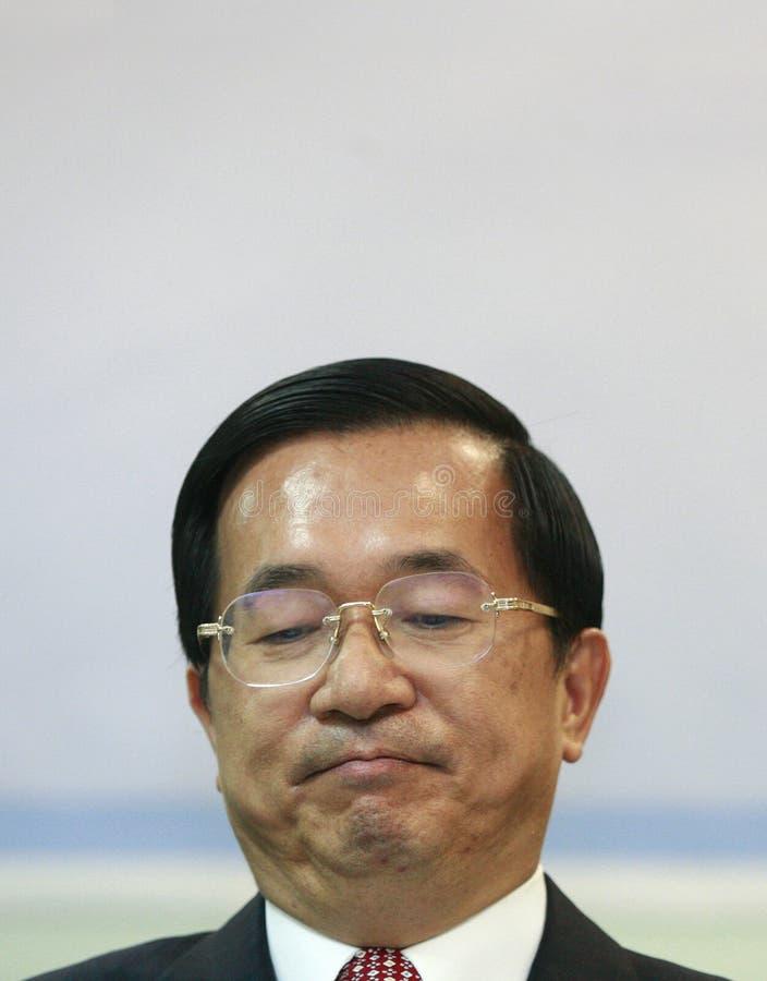 Expresidente Chen Shui-bian de Taiwán imagenes de archivo