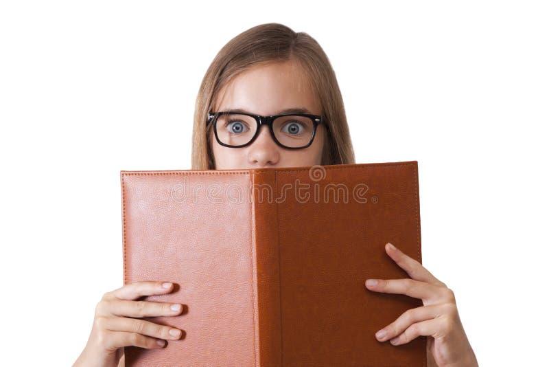 Expressão da menina foto de stock