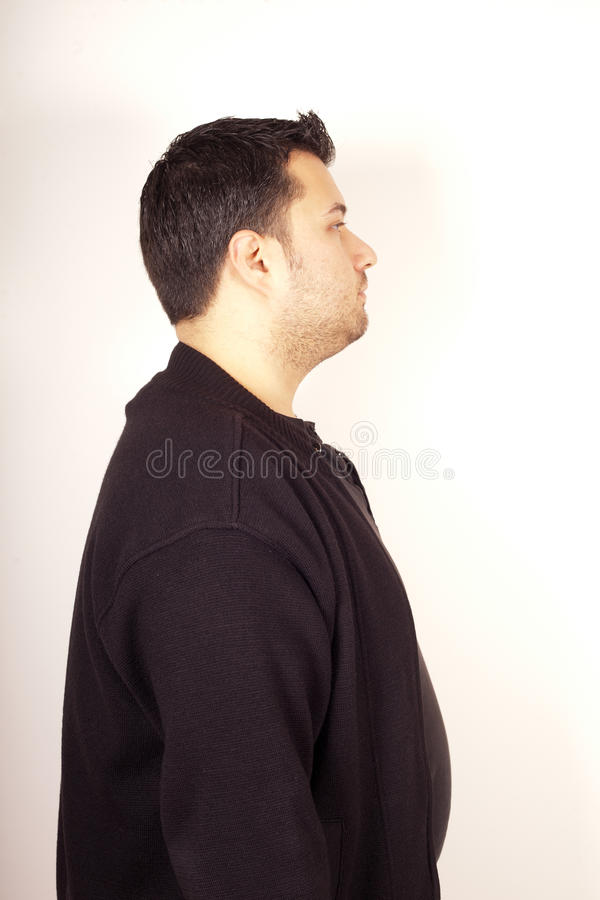 Expressão facial do homem imagem de stock royalty free