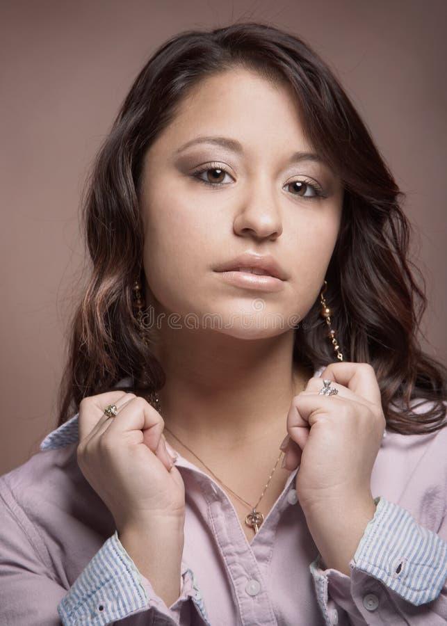 Multi jovem mulher étnica bonita fotos de stock