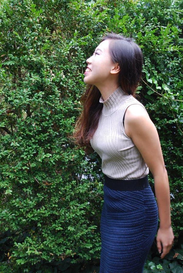 Expressões fêmeas asiáticas da beleza fotos de stock royalty free