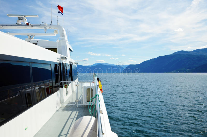 Download Express boat in Norway stock image. Image of outdoors - 21466459