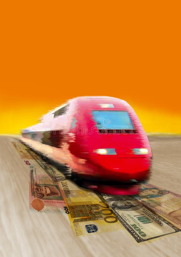 Express-Darlehen stockfotografie