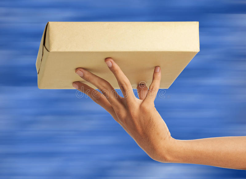 Express delivery royalty free stock image