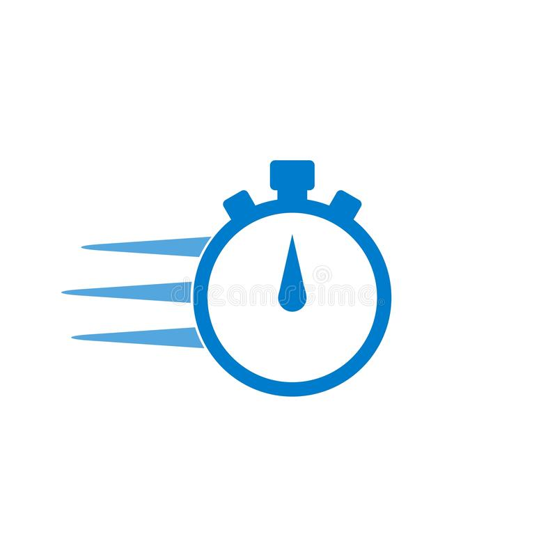 Free Express Delivery Icon, Timer Concept Stock Photography - 150775812