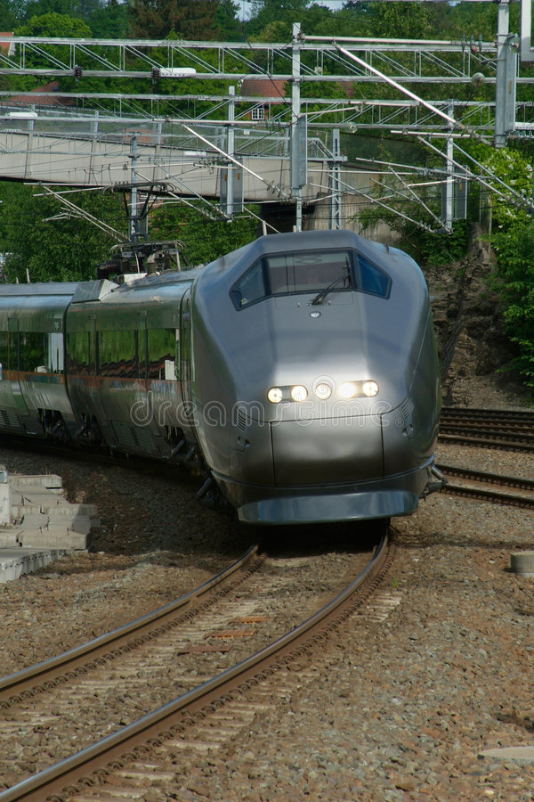 Download Express-train in Norway stock photo. Image of railway - 1023104