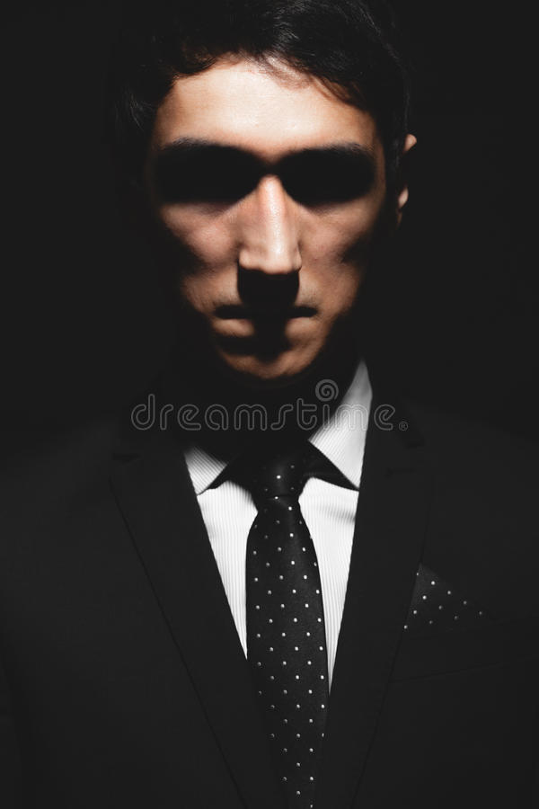 Expressief mensenportret royalty-vrije stock foto