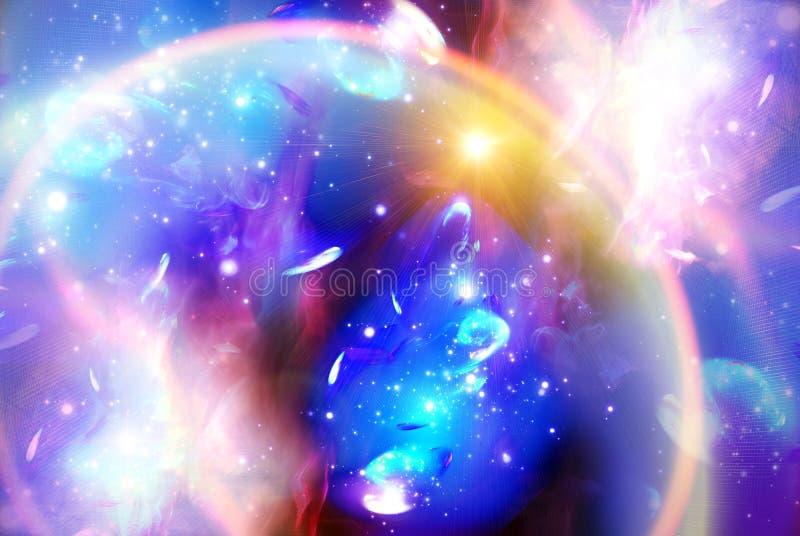 Expressieve sterachtergrond stock foto