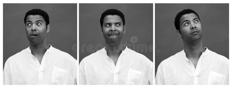 Expression du visage drôle photos stock