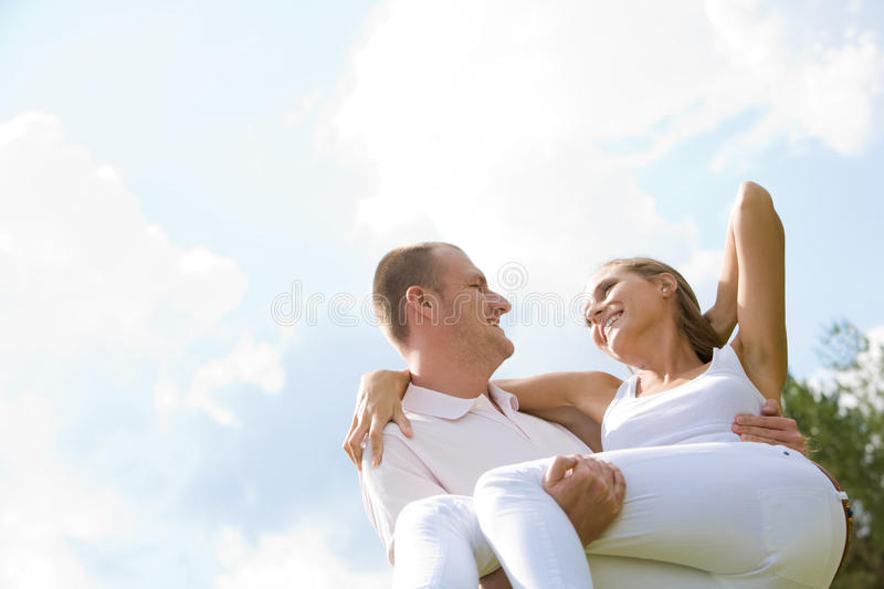 Expression of love stock photography