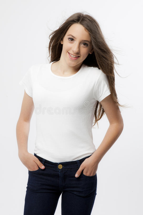 Download Expression Of A Real Young Girl Stock Image - Image: 25497213