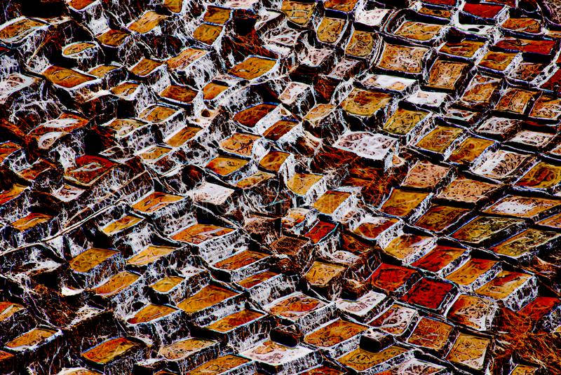Expressionismo 07 salinos abstratos, arte de Digitas por Afonso Farias ilustração stock