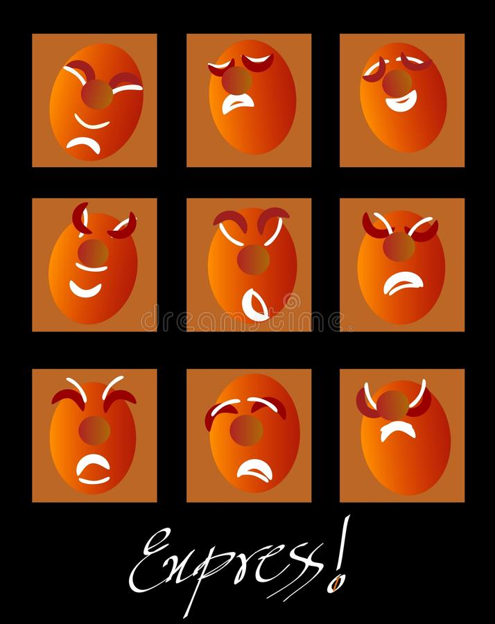 Expressions! Stock Photos
