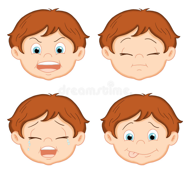 Expressions 2 royalty free stock images