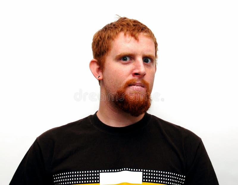 Expressive Guy stock image
