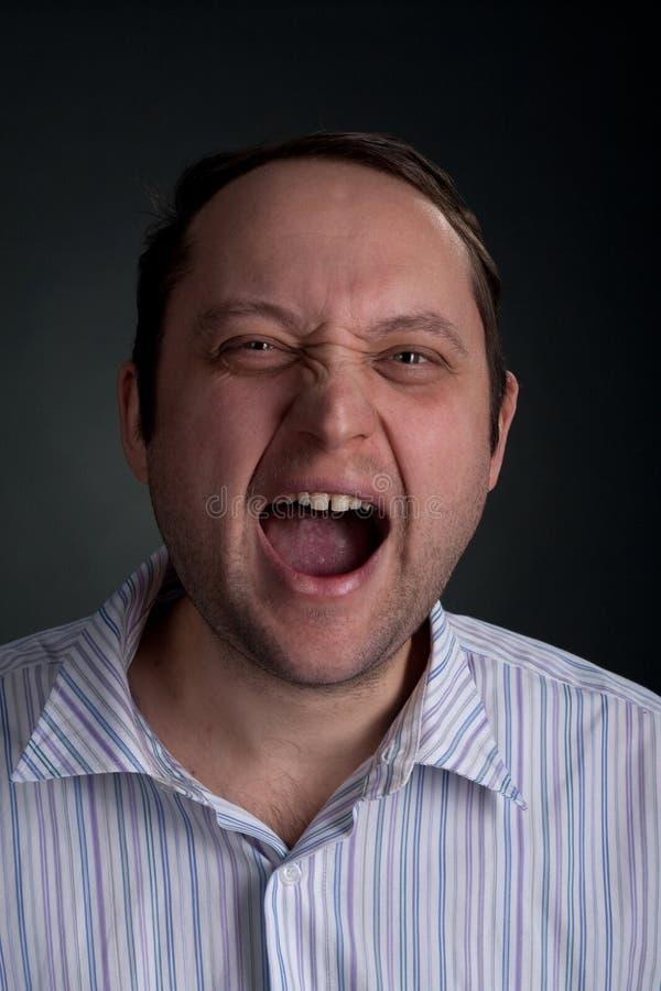 Download Expressive Portraits On Dark  Background Stock Image - Image: 12605547