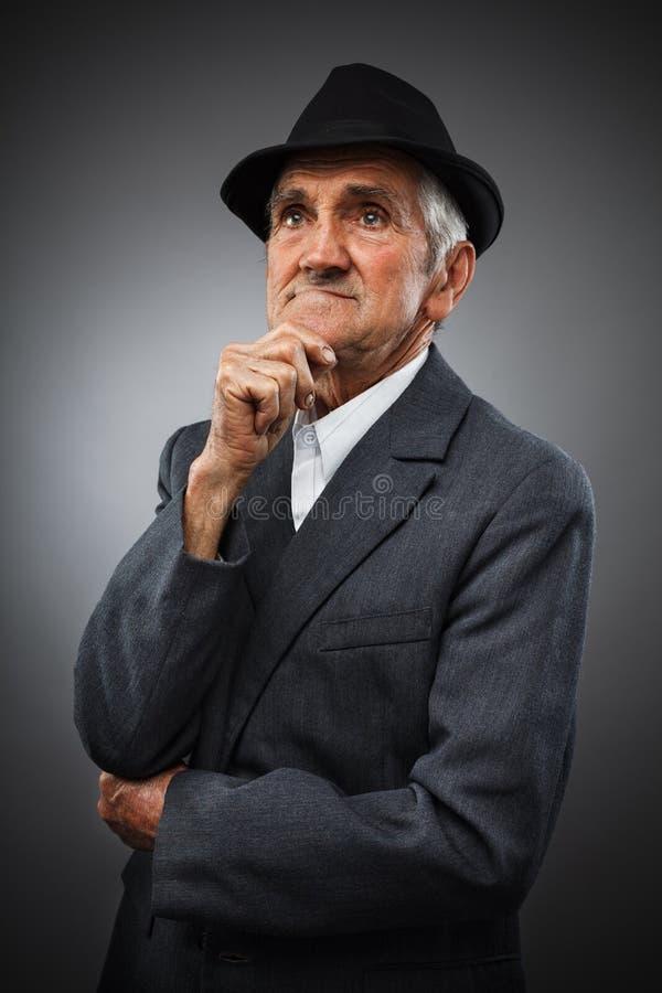 Download Expressive senior portrait stock image. Image of senior - 24586427