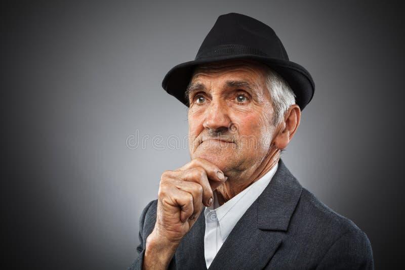 Download Expressive senior portrait stock photo. Image of aging - 24586434