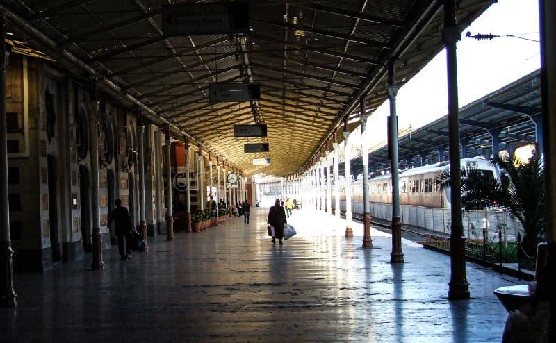 Expresso de oriente da estação em Istambul imagens de stock