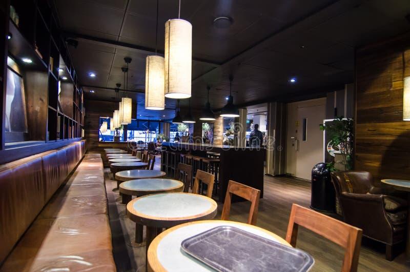 Expresso-de winkel van de Huiskoffie in Stockhom stock foto