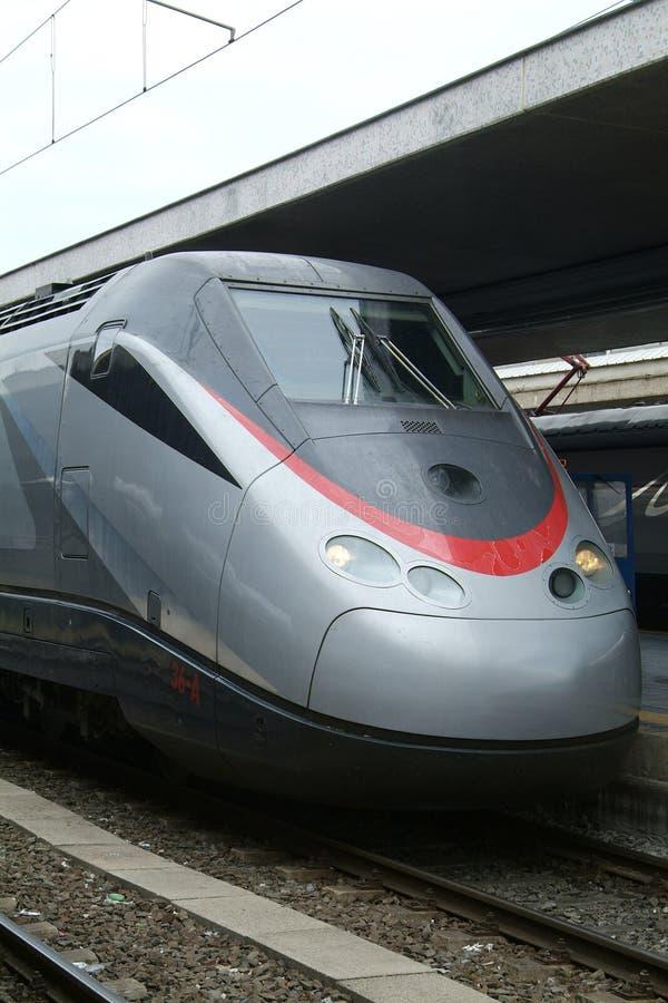 Expresstrain italiano de Eurostar fotos de archivo libres de regalías