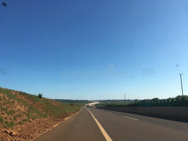 expressway стоковое фото