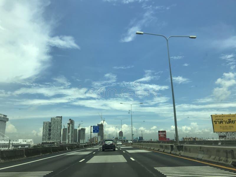 expressways royaltyfria foton