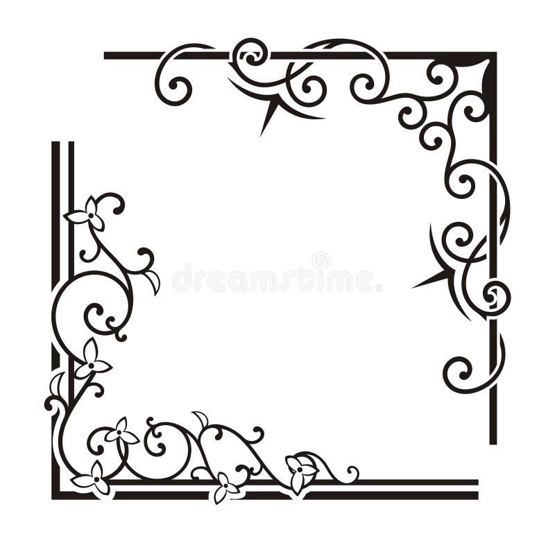 Exquisite Corner Ornamental Designs. A vector set of exquisite corner ornamental designs vector illustration