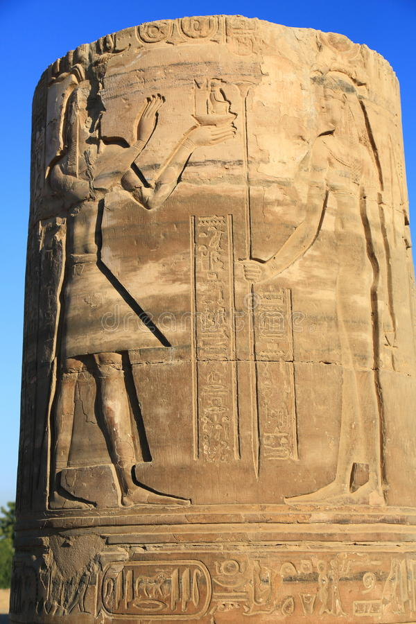 Free Exquisite Reliefs In Temple Kom Ombo Royalty Free Stock Photos - 69597418