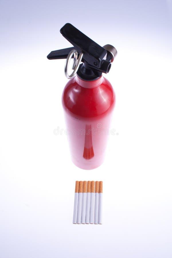 Exstinguisher op sigaretten royalty-vrije stock foto