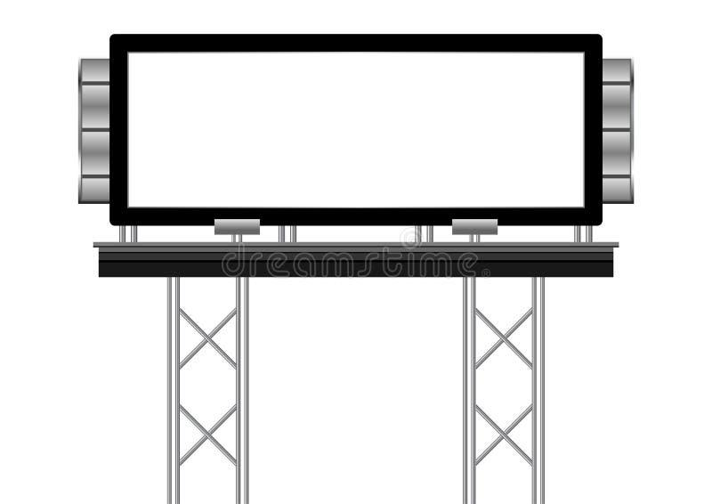 extérieur blanc illustration de vecteur