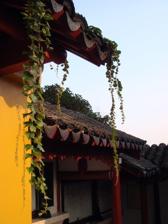 Extérieur chinois de temple photo libre de droits
