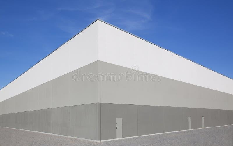 Extérieur d'entrepôt photo libre de droits