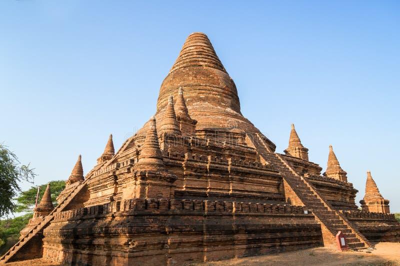 Extérieur d'un temple dans Bagan photographie stock libre de droits