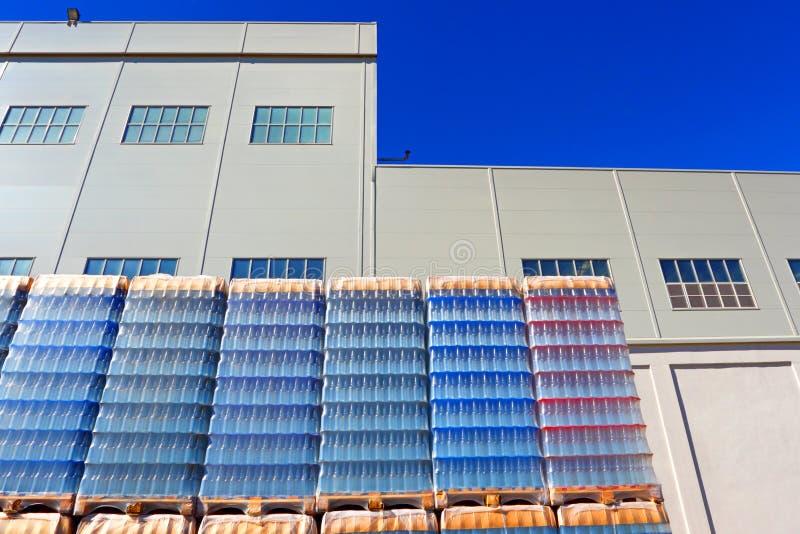 Extérieur d'usine industrielle photo stock