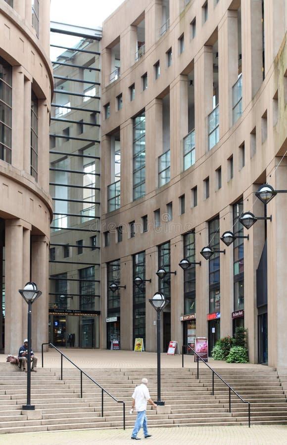 Extérieur de bibliothèque publique de Vancouver image libre de droits