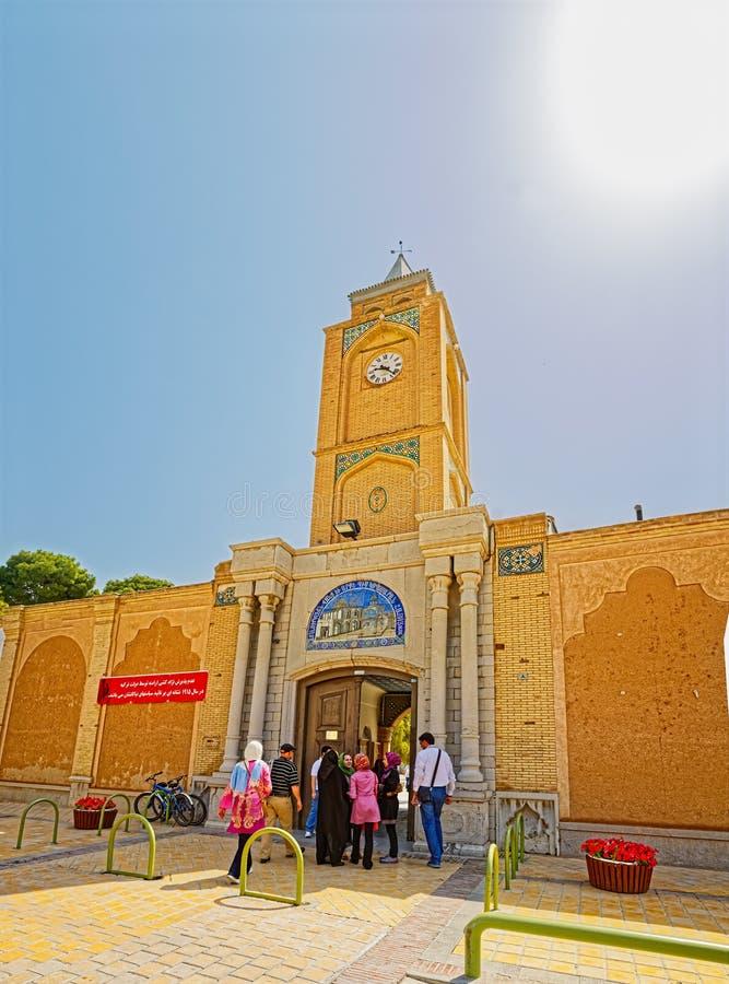 Extérieur de cathédrale de Vank photo stock