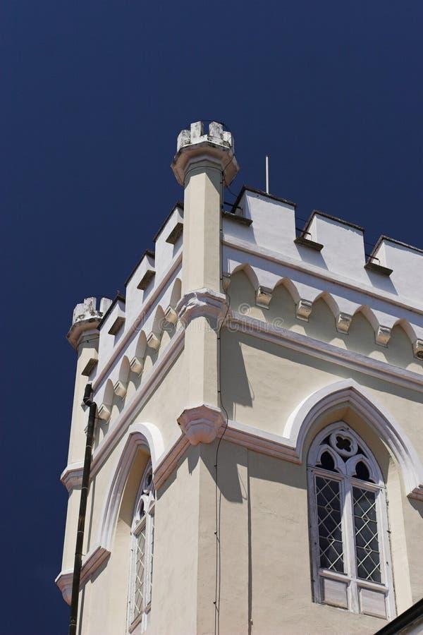 Extérieur de château de Trakoscan images libres de droits