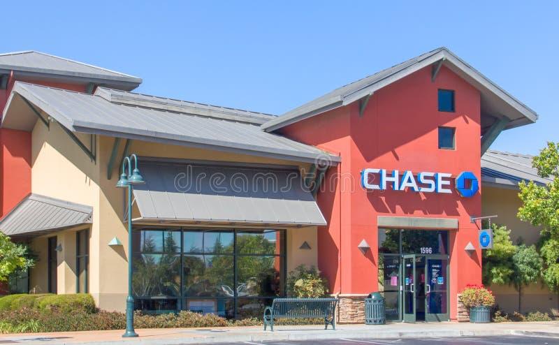 Extérieur de Chase Bank images stock
