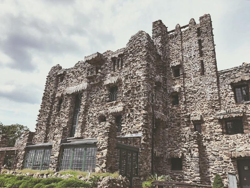 Extérieur de Gillette Castle image stock