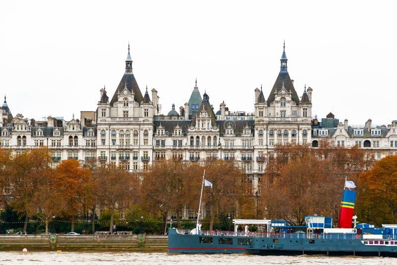Extérieur de l'hôtel royal de Horseguards à Londres photo libre de droits