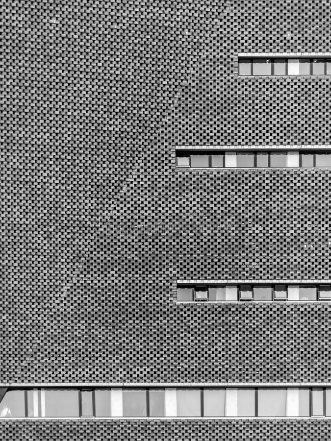 Extérieur de Tate Modern New Building image stock