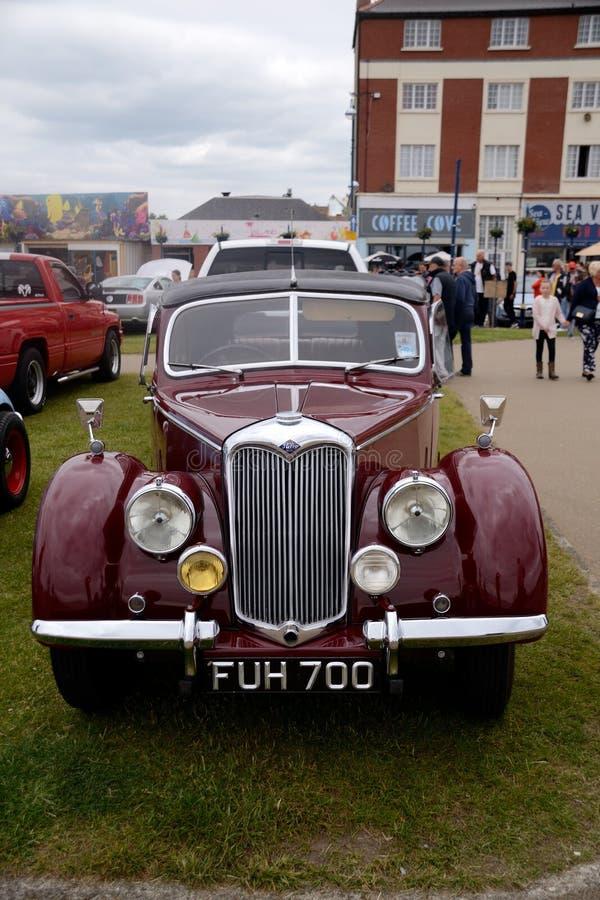 Extérieur de voiture de vintage photo stock