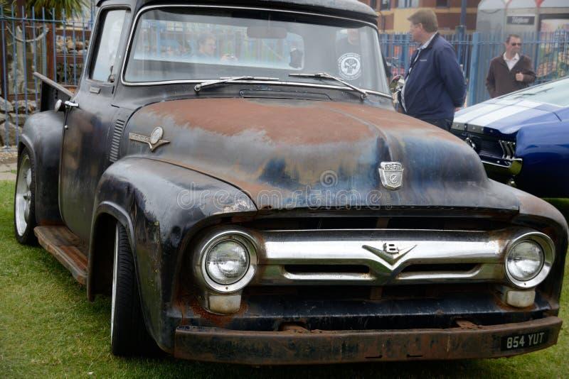 Extérieur de voiture de vintage photos libres de droits