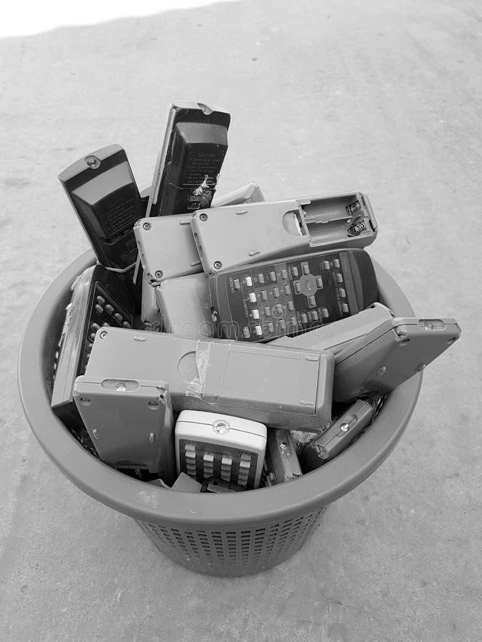 Extérieurs d'Unuseful sur le panier photographie stock