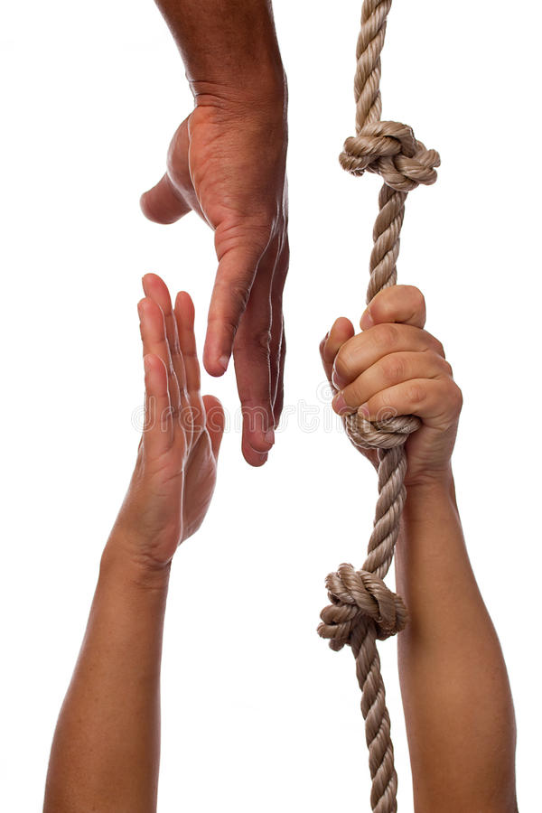 Download Extending A Hand To A Person In Need Royalty Free Stock Image - Image: 18162686