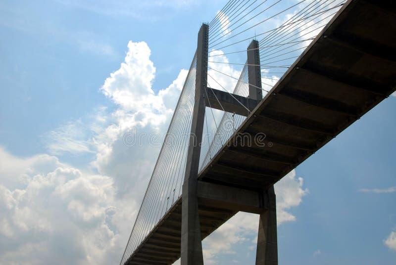 Extensão da ponte fotografia de stock