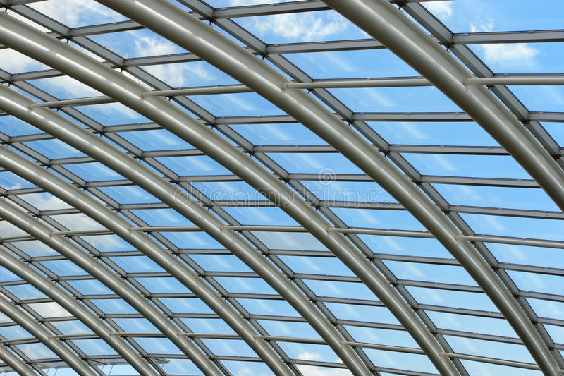 Extensão do telhado fotografia de stock